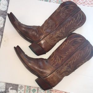 1883 Lucchese 9 cowboy boots